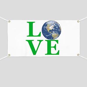 Love Earth Banner