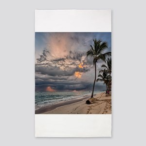 Palms At Sunset Area Rug