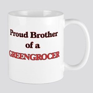 Proud Brother of a Greengrocer Mugs