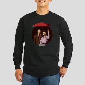 Agent Carter Umbrella Long Sleeve Dark T-Shirt