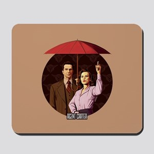 Agent Carter Umbrella Mousepad