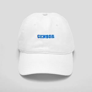 Censor Blue Bold Design Cap