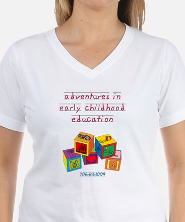 Cute Center childhood early kindercare learning Shirt