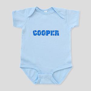 Cooper Blue Bold Design Body Suit