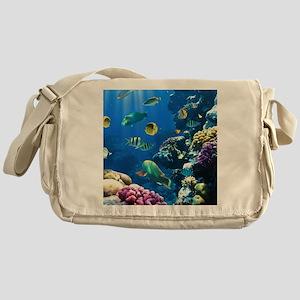 Sea Life Messenger Bag