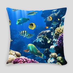 Sea Life Everyday Pillow