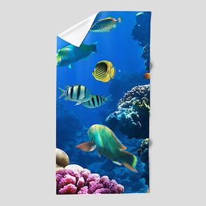 Sea Life Beach Towel