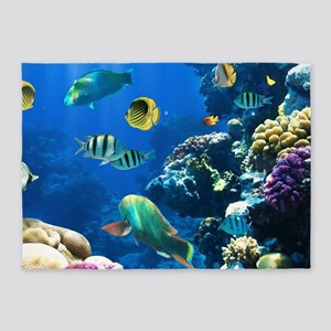 Sea Life 5'x7'Area Rug