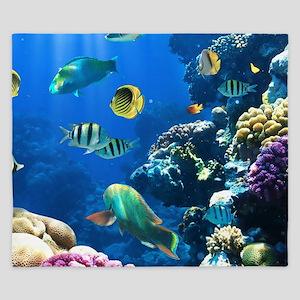 Sea Life King Duvet