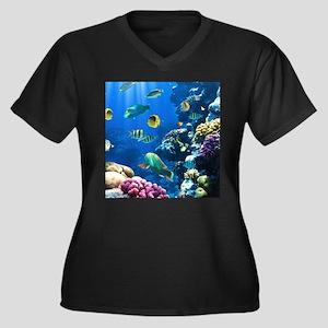 Sea Life Plus Size T-Shirt