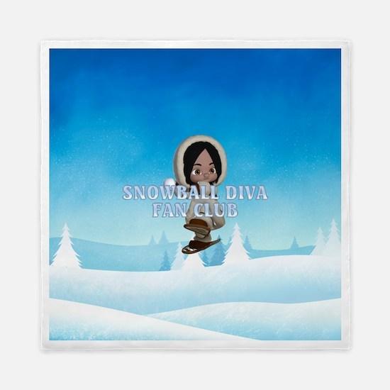 Snowball Diva Queen Duvet