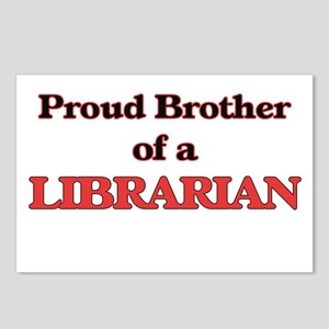 Proud Brother of a Librar Postcards (Package of 8)