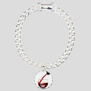 Vintage 1986 30th Charm Bracelet, One Charm