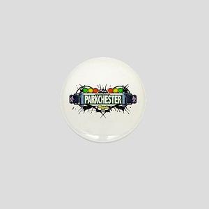 Parkchester (White) Mini Button