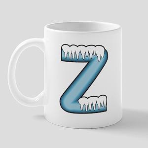 Icy Blue Z Mug