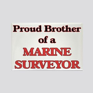 Proud Brother of a Marine Surveyor Magnets