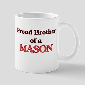 Proud Brother of a Mason Mugs