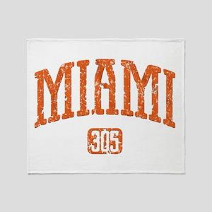 MIAMI 305 Throw Blanket