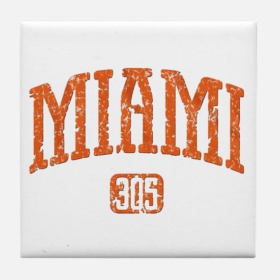 MIAMI 305 Tile Coaster
