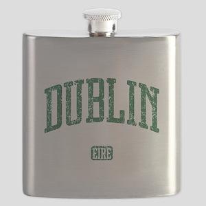 Dublin Ireland Eire - Irish St Patricks Day Flask