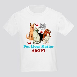 Pet Lives Matter Adopt T-Shirt