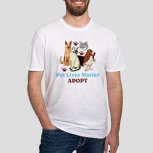 Pet Lives Matter Adopt T-Shirt