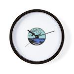 Novago Logo White.png Wall Clock
