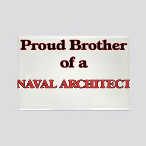 Proud Brother of a Naval Architect Magnets