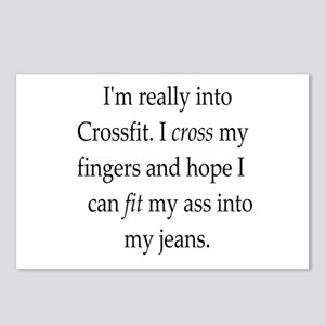 fitness humor Postcards (Package of 8)