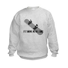 Snowboarding Gifts Sweatshirt