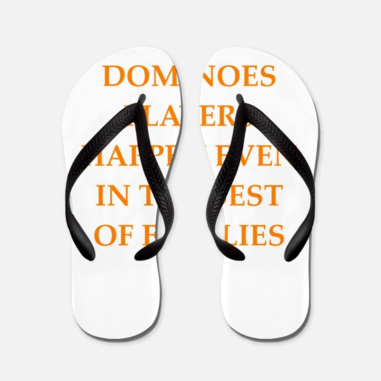 dominoes Flip Flops