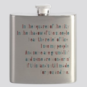 Made For Us, Not the Billionaires Flask