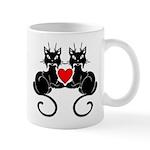 Black Cat Love Mug
