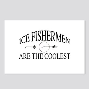 Ice fishermen are the coo Postcards (Package of 8)