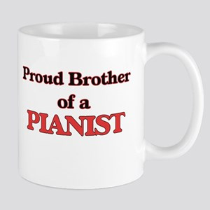 Proud Brother of a Pianist Mugs