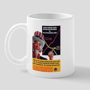 Freedom Graph Republican vs. Democrat Mug