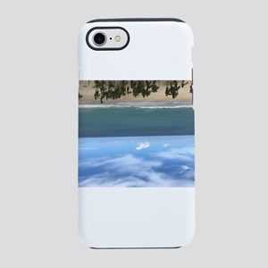Beach resort upside down iPhone 8/7 Tough Case