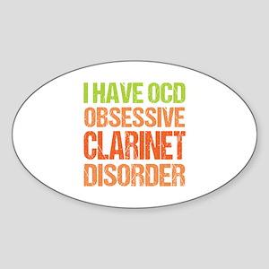 OCD Clarinet Sticker