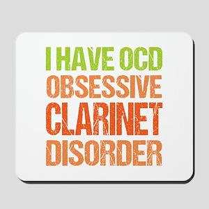 OCD Clarinet Mousepad