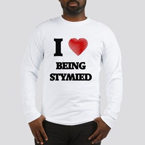 being stymied Long Sleeve T-Shirt