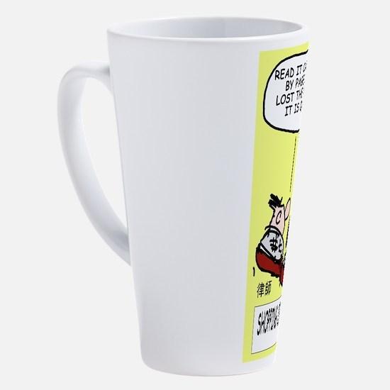 Cute Solicitors 17 oz Latte Mug