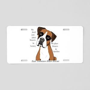 ETBR Merchandise Logo Aluminum License Plate