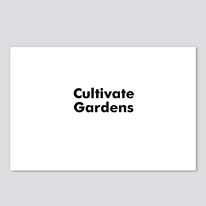 Cultivate Gardens Postcards (Package of 8)