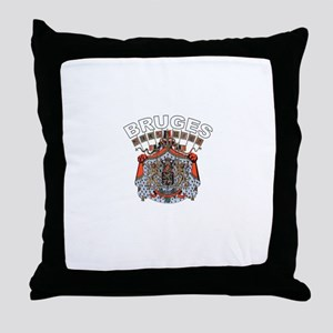 Bruge, Belgium Throw Pillow