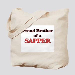 Proud Brother of a Sapper Tote Bag