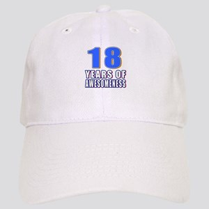 18 Years Of Awesomeness Cap