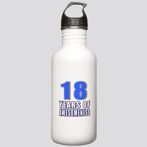 18 Years Of Awesomenes Stainless Water Bottle 1.0L