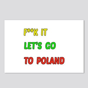 Let's go to Poland Postcards (Package of 8)