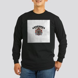 Ardennes, Belgium Long Sleeve Dark T-Shirt