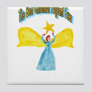 Best Christmas Pageant Tile Coaster